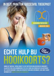 Hooikoorts poster fysio tape